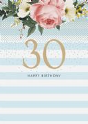 30th Happy Birthday Card